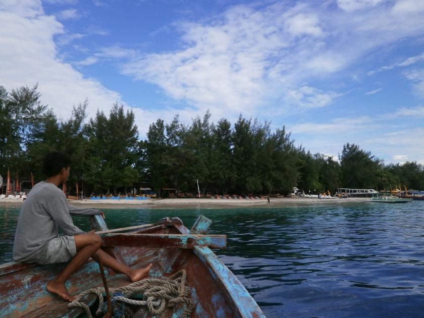 Merapat  ke Gili Trawangan  Lombok